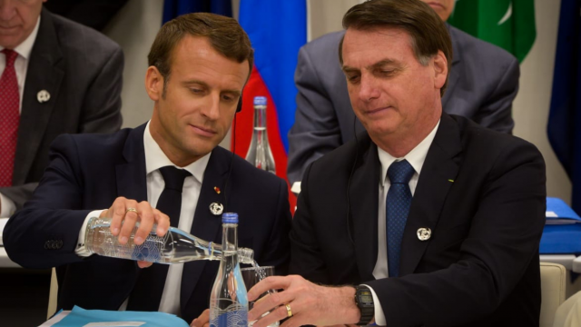 Macron water
