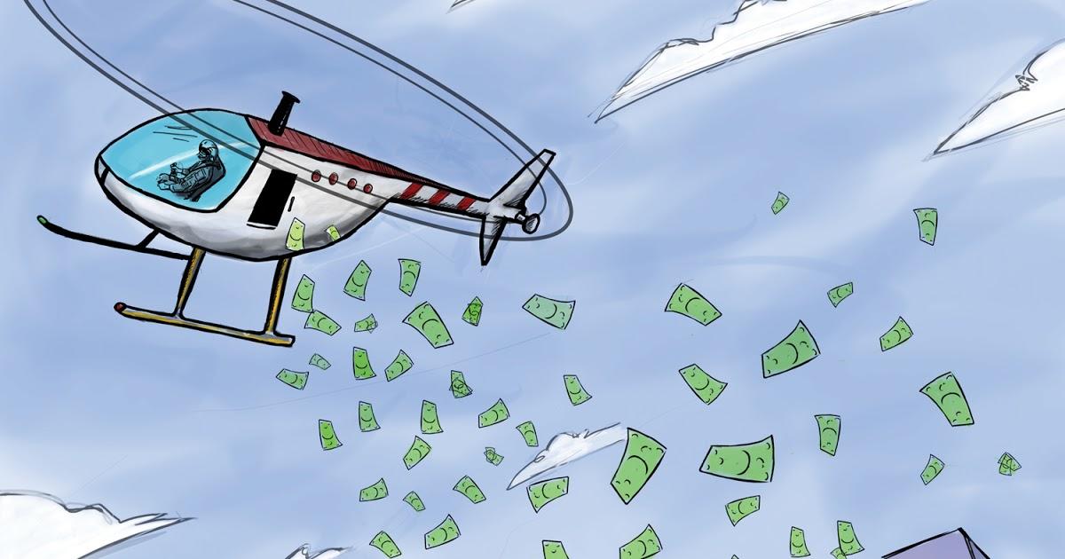 Quantitative Easing Helicopter Money