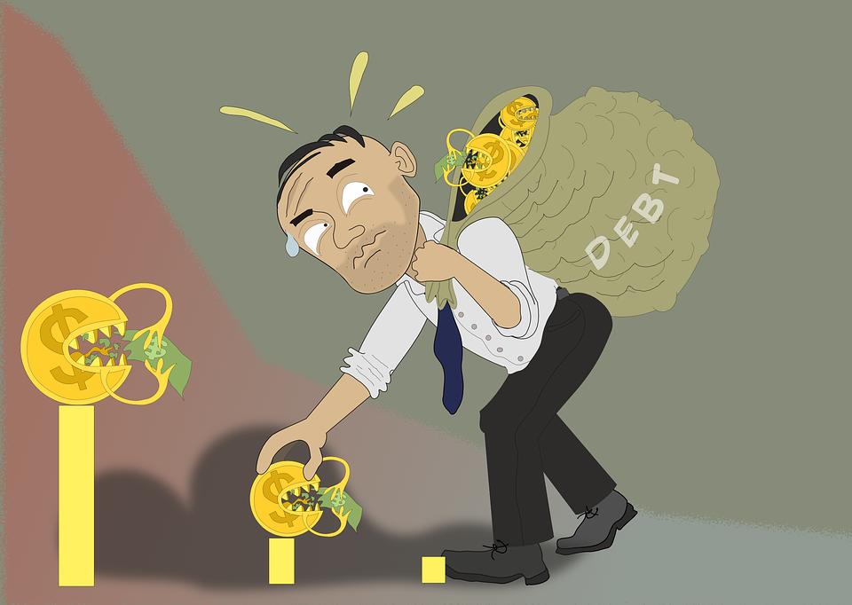 Debt Money Spending