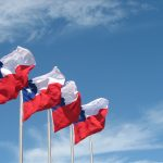 Chile Flags Protest