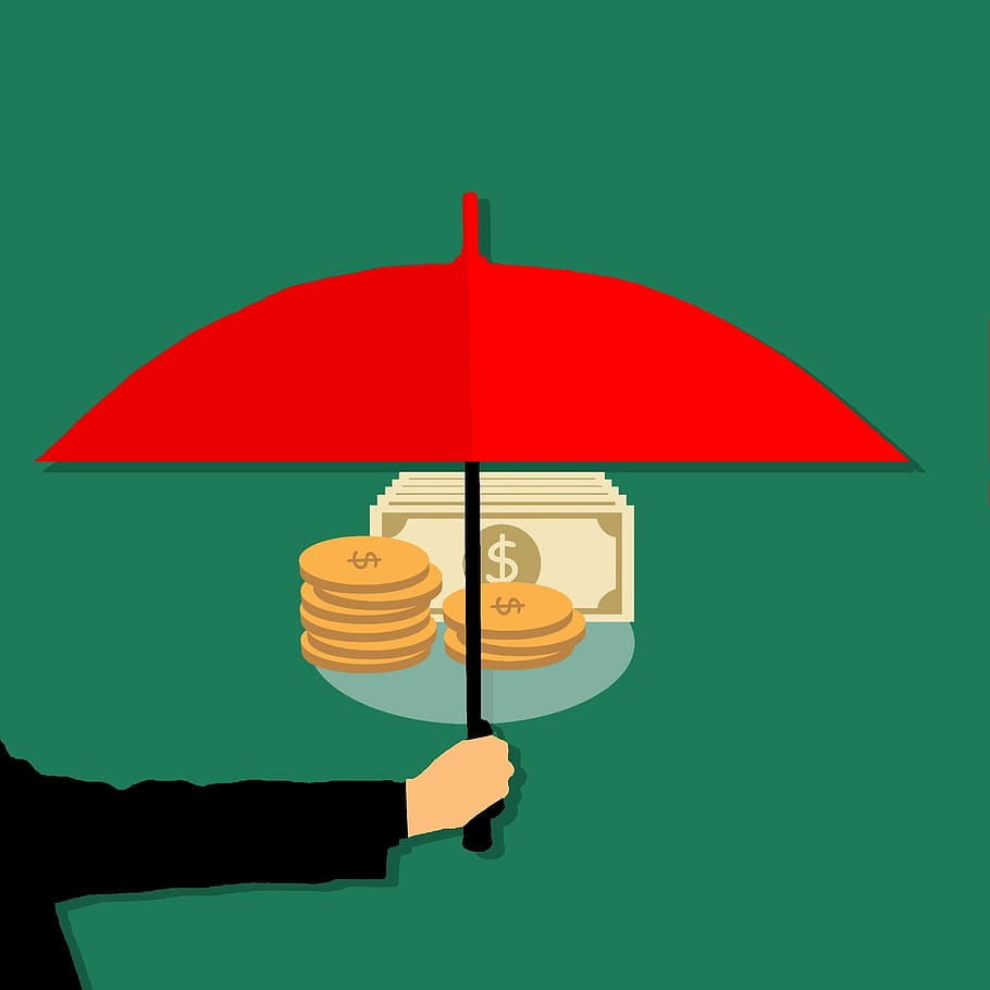 Protecting Money Umbrella